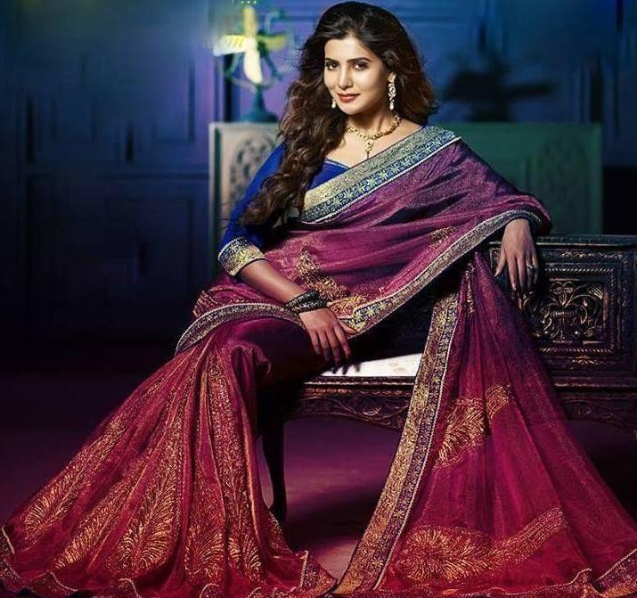 Samantha Latest Photoshoot in Saree - Papparasi