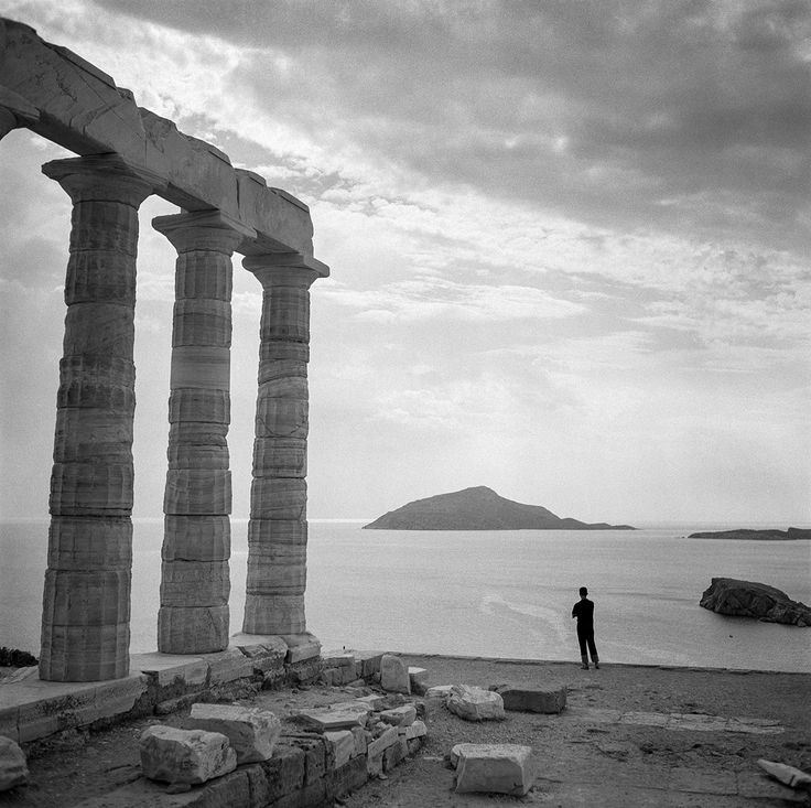 Sounion 1955. Photo © Robert McCabe.