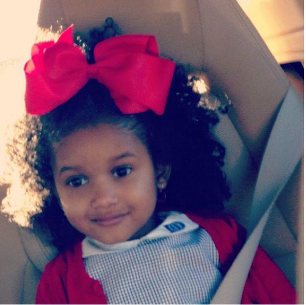 Singer Erykah Badus Daughter Has Adorable Curls!