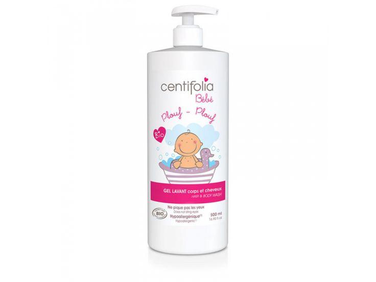 Gel de dus si sampon Bio Centifolia pentru bebelusi si copii