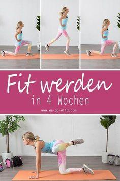7 Bauch Beine Po Übungen, die deinen Körper in 4 Wochen verändern – Sport