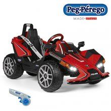 Brand new for 2018 the Peg Perego Slingshot 12v car one seater