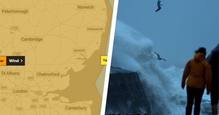 Essex weather maps show when storm ciara will peak in your