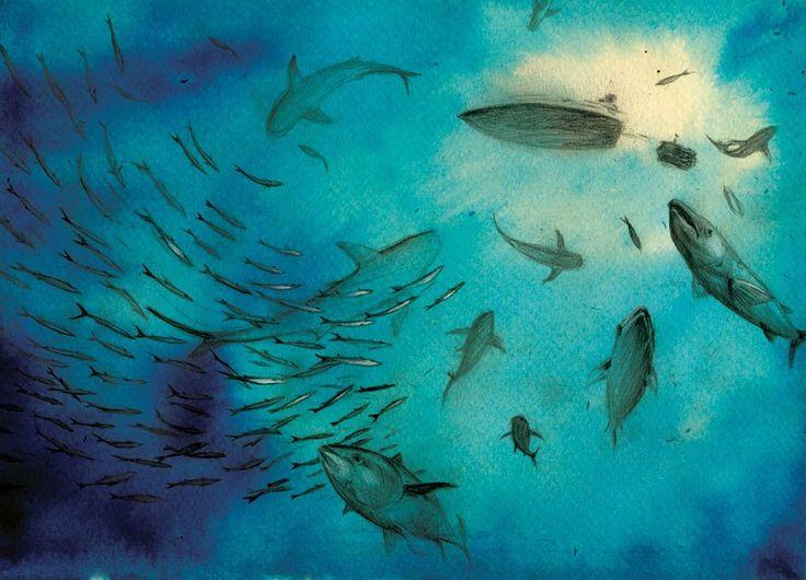 Joanna Rusinek, ilustracja do książki Życie Pi Yanna Martela, fot. dzięki uprzejmości artystki - photo 6