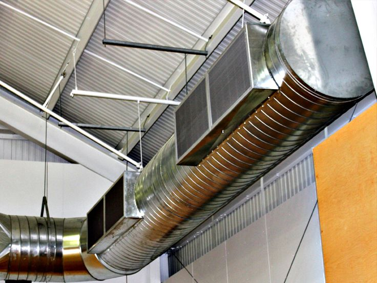how to clean exposed ductwork