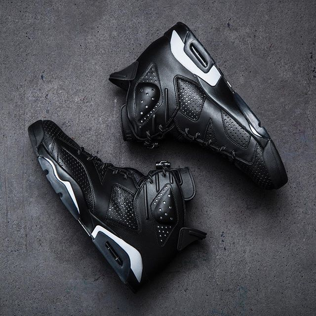 The Air Jordan Retro 6 'Black' drops this Saturday at Jimmy Jazz