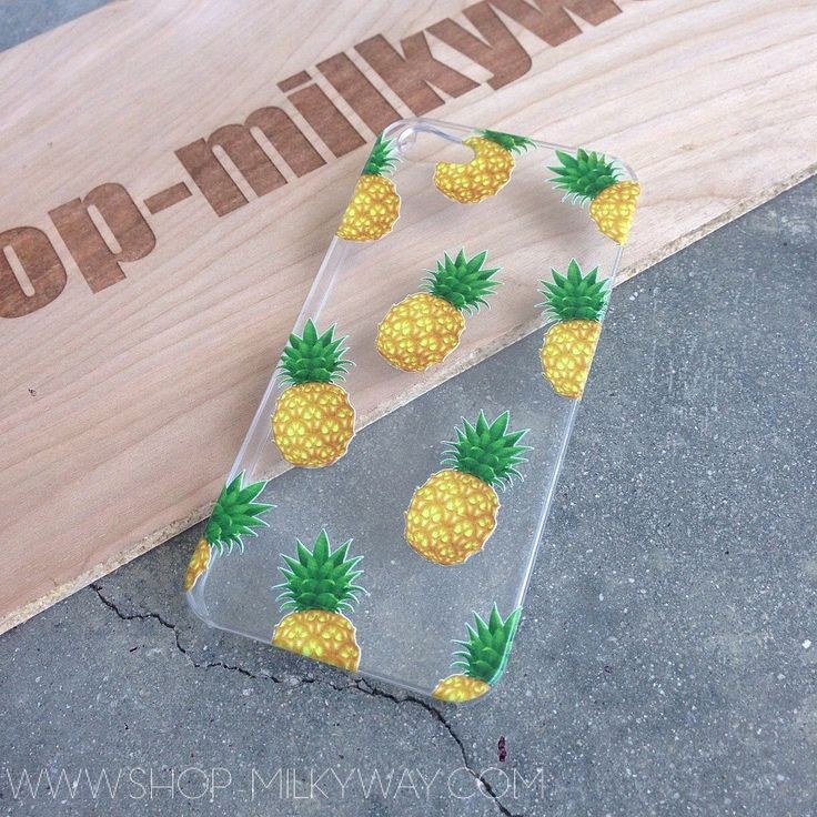CLEAR PLASTIC CASE COVER for APPLE IPHONE 5/5S, 5C - PINEAPPLE OVERLOAD summer psych fruit love hipster $14.99