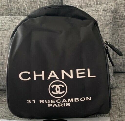 Chanel Backpack Novelty Rucksack Bag Very Rare Vip Limited From Japan F S Fashion Clothing Shoes Accessories Womensbagsh Rucksack Bag Chanel Backpack Bags