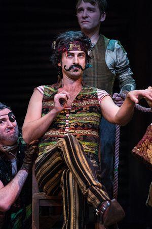 """Quinn Mattfeld as Black Stache in the Utah Shakespeare Festival's 2013 production of """"Peter and the Starcatcher."""" (Photo by Karl Hugh. Copyright 2013 Utah Shakespeare Festival.)"""