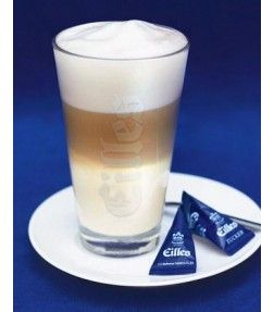 EILLES Latte Machiato Glas mit Untersetzer