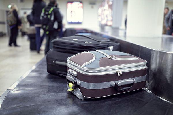 Pornstar on baggage