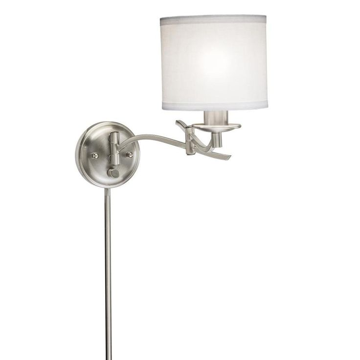 plug in vanity lighting. plain plug swing arm plugin brushed nickel wall lamp  overstock shopping top  rated sconces u0026 vanities intended plug in vanity lighting