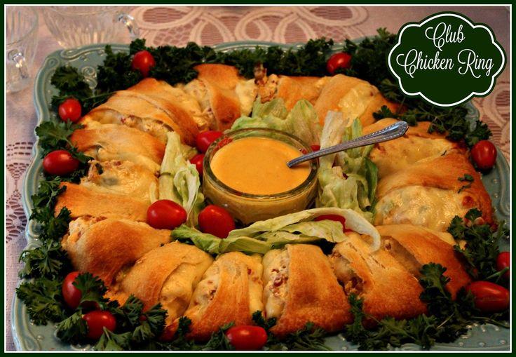 Sweet Tea and Cornbread: Chicken Club Ring!