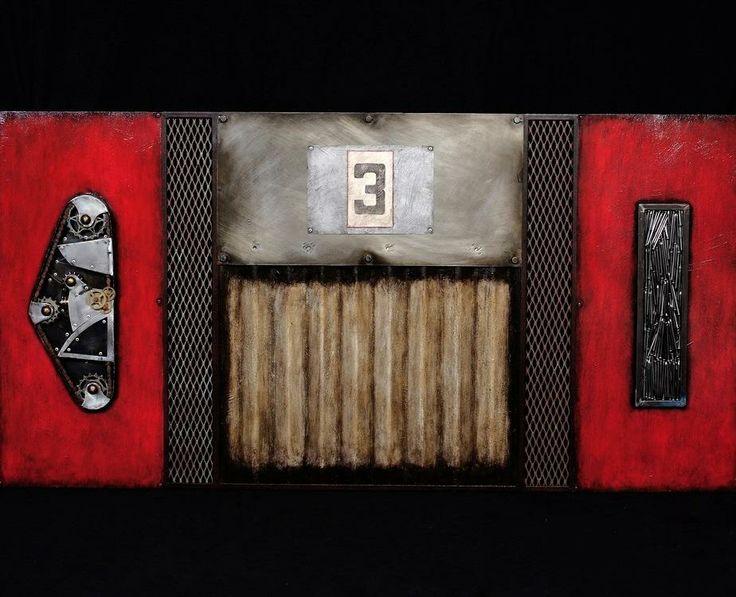 Berkshires Arts Festival Highlight: David Vigo  http://www.berkshiresartsfestival.com/ #berkshiresAF #art #festival #craft #mixed #media #july