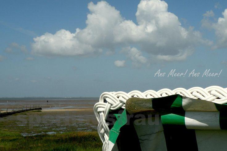 Ans Meer!   Fotografie Din A 4 von sperlingsfrau auf DaWanda.com