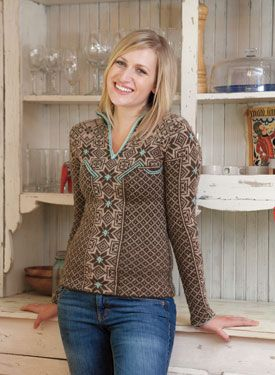 aesa pullover #pattern by kerin dimeler-laurence (kit from knit picks 40 usd, pattern only 5 usd) #NEWT #hpkchc