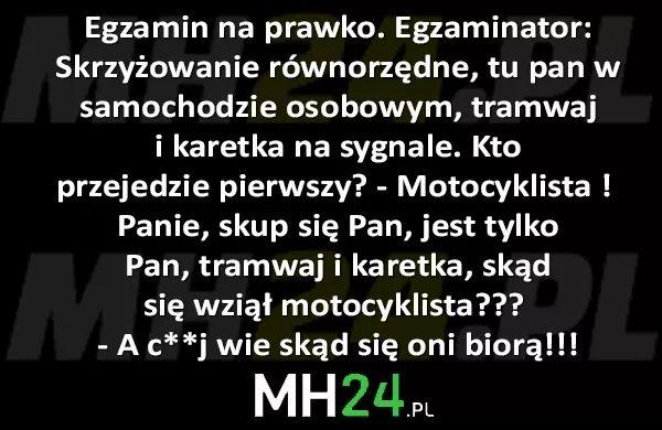 Egzamin na prawko… – MH24.PL – Demotywatory, Memy, Śmieszne obrazki i teksty, Filmiki, Kawały, Dowcipy, Humor