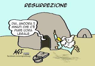 Ora legale a Pasqua