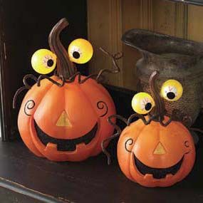 jack o'lanterns | Love these funny, quirky pumpkins! More