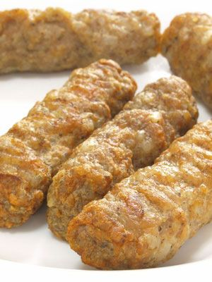 Vegan Savory Breakfast Sausage - no processed meat replacements. It's made from black eyed peas and potato flour. It is wheat free, gluten free, soy free, and corn free! You can sub wheat flour for potato flour if you don't have a problem with gluten.