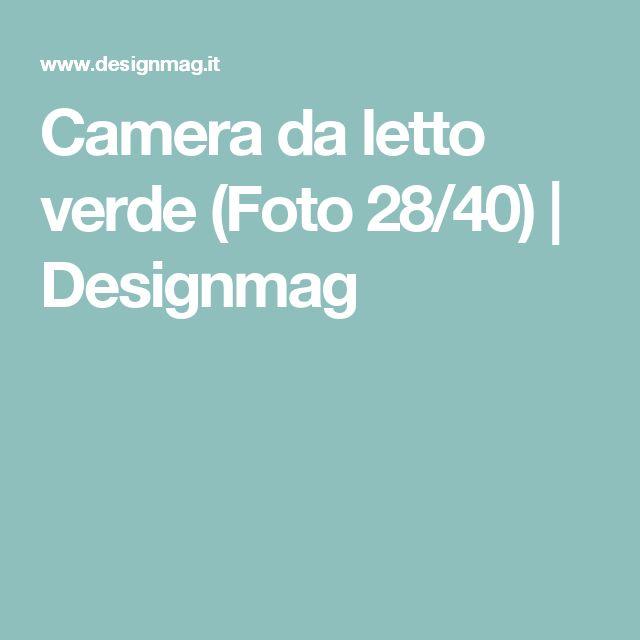 Camera da letto verde (Foto 28/40) | Designmag
