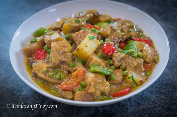 Pinoy Pork And Chicken Curry Panlasang Pinoy Recipe Curry Chicken Recipes Curry Chicken Curry Recipes