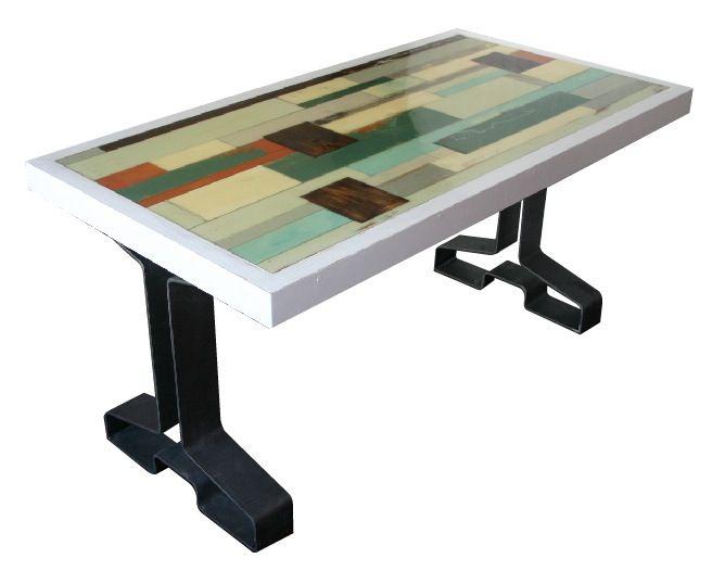 19 beste afbeeldingen over epoxy tafels op pinterest met en epoxy - Tafel met chevet ...