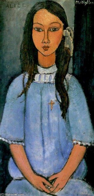 Alice - Modigliani I'd almost forgotten the fascination I had for Modigliani in my teens. Still like him! :)