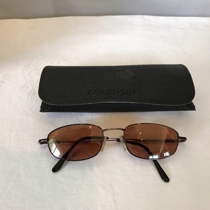 Vintage Serengeti Sunglasses + Case