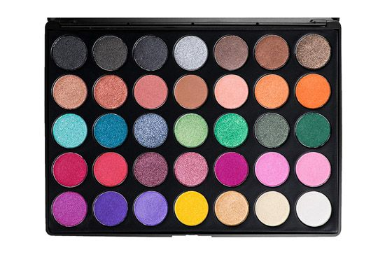 Morphe Brushes 35U - Multi-Color Shimmer Palette i gruppen Smink / Ögon / Ögonskuggor hos Brallis AB (MB-35U)
