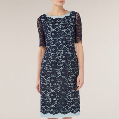 Jacques Vert Monique Lace Shift Dress from Debenhams.ie, available up to size 24.  €215