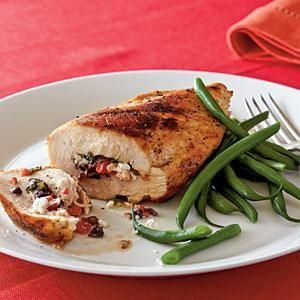 Mediterranean Stuffed Chicken Breasts Recipe | MyRecipes.com