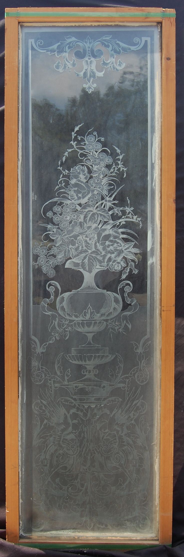 14 best etched glass images on pinterest etched glass glass door panel eventelaan Images