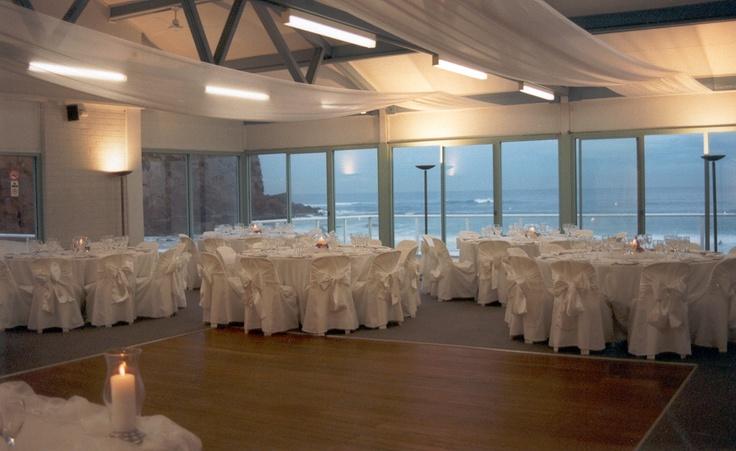 #weddingreception #whiteonwhite #ceilingdrapery