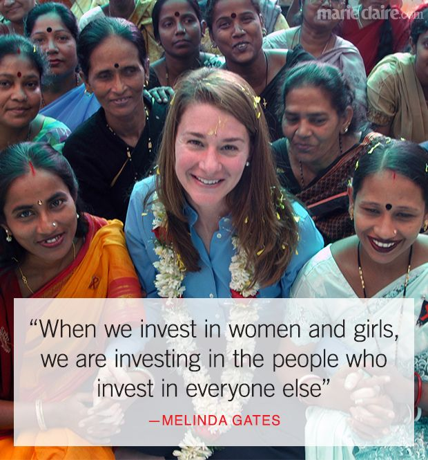 Bill Gates On Education Quotes: About Investing In Education For Women And Girls... Click