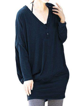 Allegra K Ladies Button Detail V Neck Close-fitting Blouse Top New #allegrak #ladies #button #detail #vneck #closefitting #blouse #top #new #fashion #women