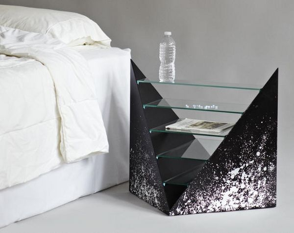 Sleek ultra-modern nightstand design | www.bocadolobo.com #bocadolobo #luxuryfurniture #exclusivedesign #interiodesign #designideas #bedroomideas #nightstandsideas #modernnightstands
