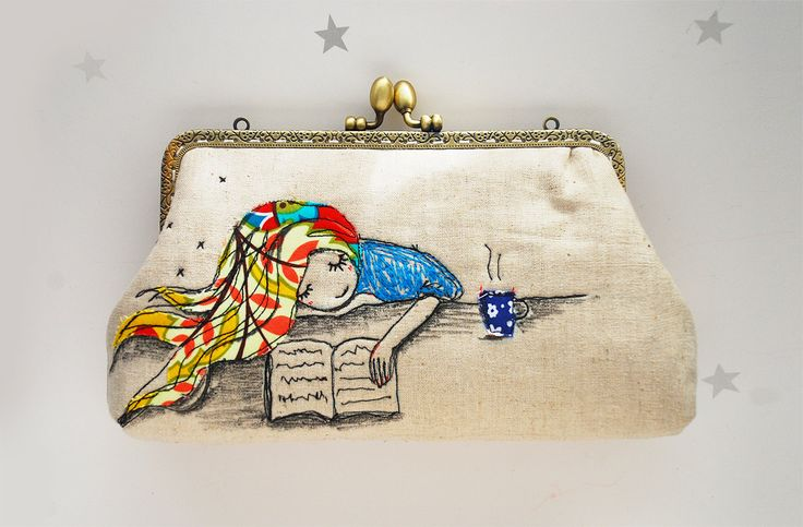 Clutch a book ... or one of these 5 lovely bookish clutches! / guiltless reading