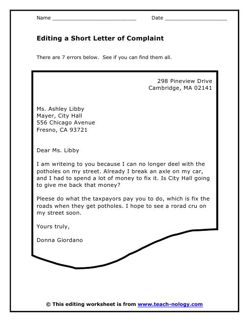 complaint format best complaint letters images  13 best how to write letters memos images cover complaint format