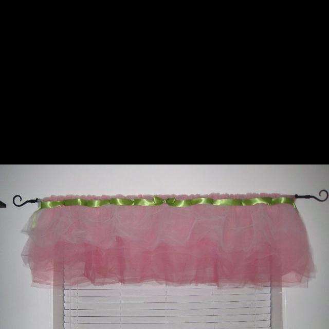 Tutu curtains I made for my friend's nursery