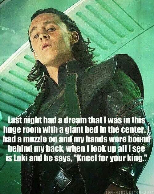 "Loki ~ ""Kneel for your King"""