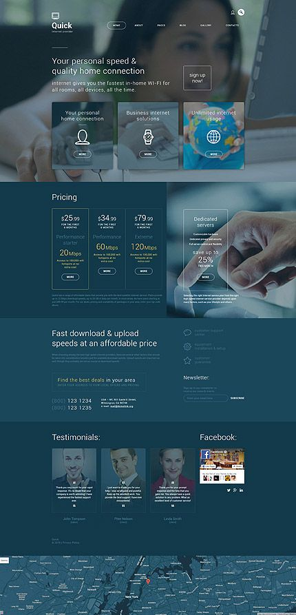 Communications #Most Popular #Joomla / Template #55963