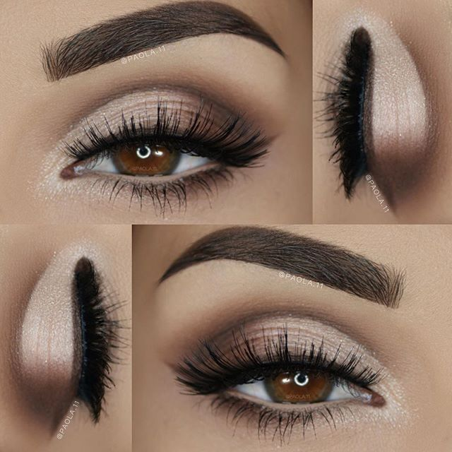 ✨ Neutral cut crease goals on @paola.11 wearing our #SeductressLashes from the…