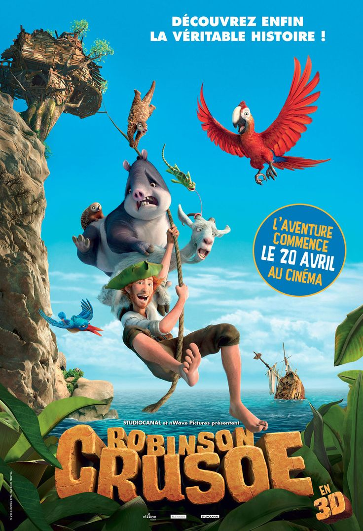 best ideas about robinson crusoe film englisches robinson crusoe film d animation tous publics de vincent kesteloot