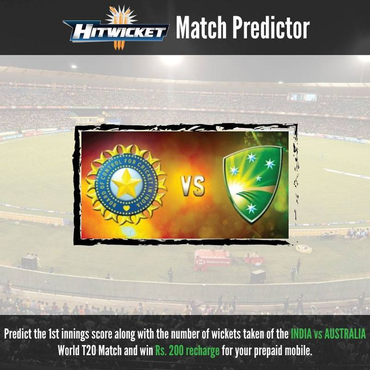 Match predictor of World Cup match!  #indvsaustralia #cricketgame #cricket