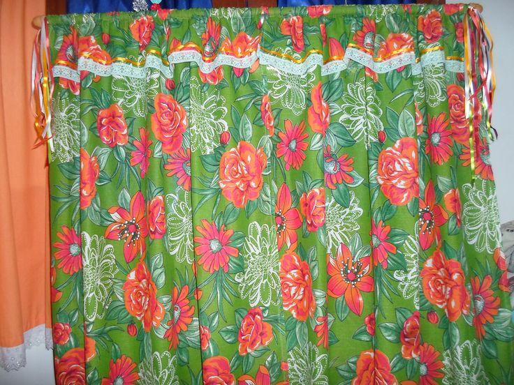 The 25 best cortina de chita ideas on pinterest tecido for Estilos de cortinas