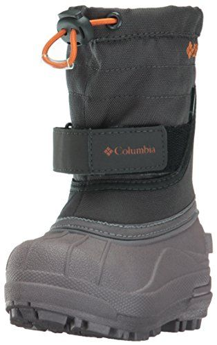 Columbia Toddler Powderbug Plus Winter Boot (Toddler)  Upper Material: suede, nylon, rubber  Waterproofing: fully taped seams  Insulation: synthetic (200g)  Lining: felt (6mm, recycled)  Temperature Rating: -25 F