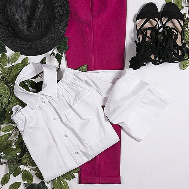 Outfit: Camicia popeline e whitecollar 🤓😎🤗 incredibile SS2017 con #dani #danishop