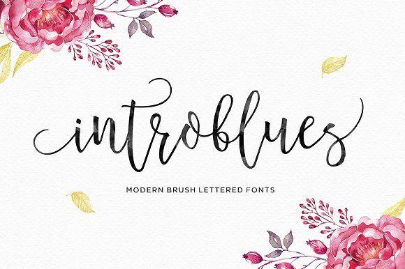Introblues Script by dhanstudio on @creativemarket