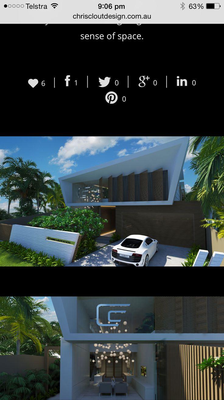 Chris Clout Design Sunshine Beach QLD modern beach house